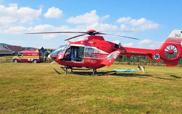 Elicopterul SMURD, care deservește județul Cluj, a devenit operațional