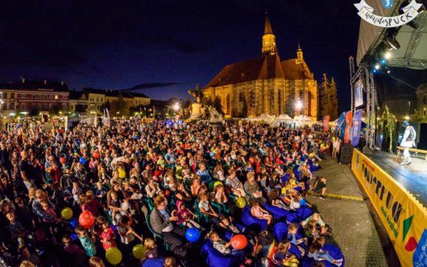 FOTO | 27.000 de spectatori la festivalul WonderPuck de la Cluj