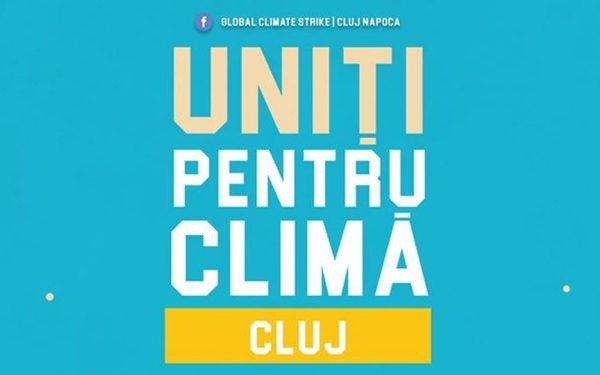 """""""Grevă pentru Pământ""""! Clujul se alătură celei mai mari acțiuni pentru mediu la nivel mondial"""