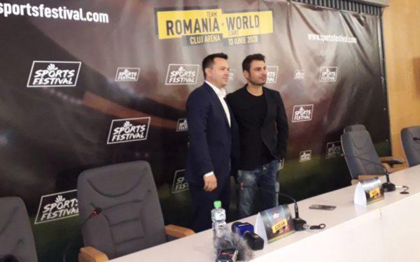 Adrian Mutu adună vedete din fotbalul internațional, la un meci de gală la Cluj