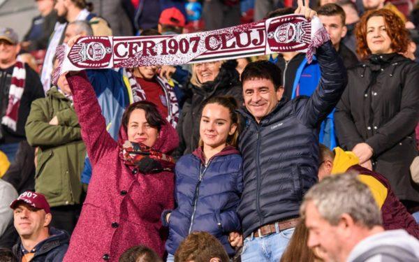 Invitații gratuite pentru fanii CFR-ului care vor să își sărbătorească ziua pe stadion