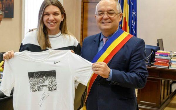 Simona Halep devine cetățean de onoare al orașului Cluj-Napoca!