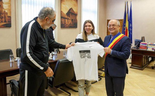 Simona Halep, cetățean de onoare al Clujului