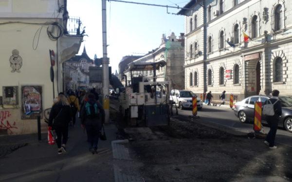 Au început lucrările la cel de al doilea sens al străzii Regele Ferdinand