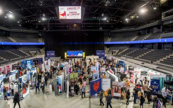 Târg de job-uri la Cluj. Peste 100 de companii caută angajați