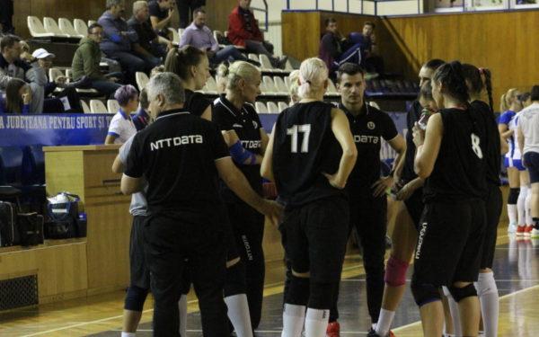 Volei feminin | U NTT Data Cluj a fost învinsă de Știința Bacău