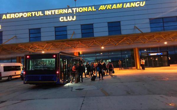 Parcare inteligentă la Aeroportul din Cluj