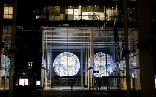 Gaia, instalația-vedetă a festivalului Lights On din acest an