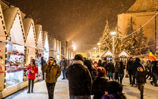 Târgul de Crăciun din Cluj, printre cele mai frumoase din Europa