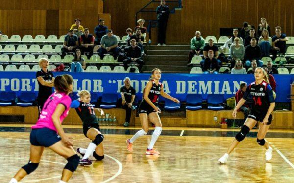 Volei | U NTT Data a câștigat cu 3-1 meciul cu Rapid București
