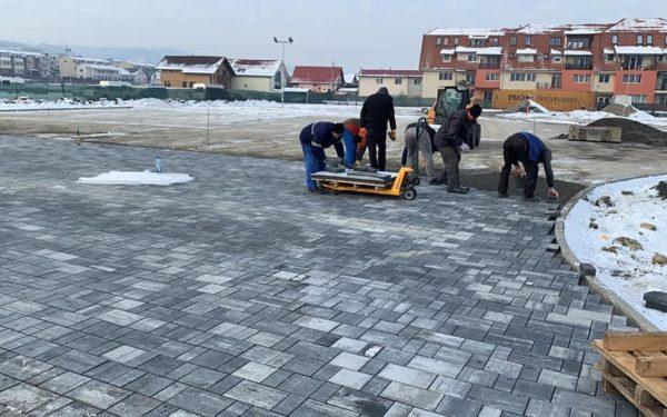 Parc nou în Florești