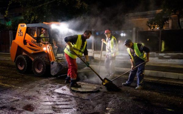 Anul trecut, la Cluj au fost reabilitați aproape 150.000 de metri pătrați de străzi, alei și trotuare