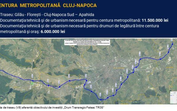 Primăria Cluj cere urgentarea obținerii avizelor pentru Centura Metropolitană
