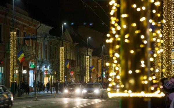 CLUJ | Primăria va da 6 milioane de lei pentru iluminatul festiv în următorii doi ani