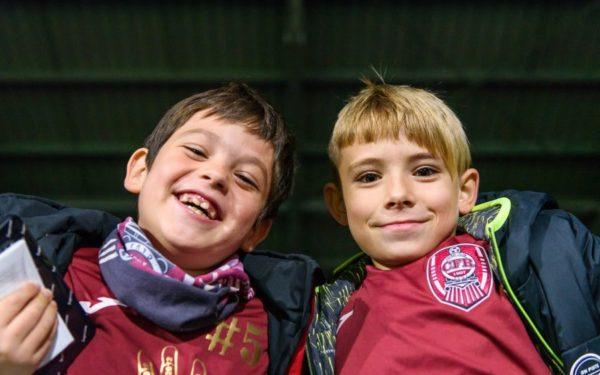 Intrare gratuită pentru elevi la CFR Cluj-FC Sevilla