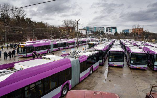 VIDEO | 25 de noi troleibuze au fost puse în circulație la Cluj-Napoca. Jumătate din flota CTP e acum nepoluantă