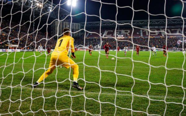 FOTO | CFR Cluj-FC Sevilla, 1-1 în primul meci din 16-imile Europa League