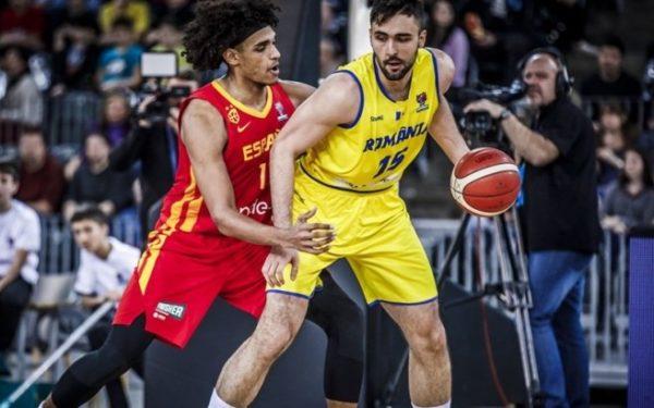 Naționala de baschet masculin a României a fost învinsă de campioana mondială