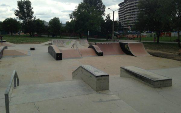 A fost lansată licitația pentru amenajarea celui mai modern skatepark din România