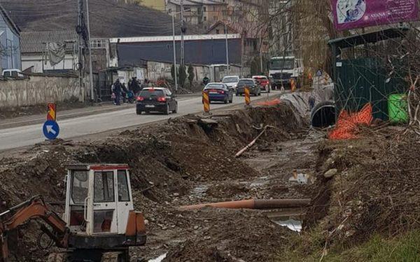 Strada Eroilor din Florești e în șantier. Investiția se ridică la 2,5 milioane de euro
