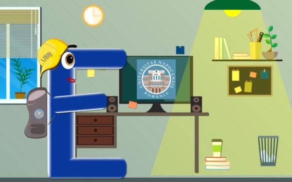 Studenții Erasmus își vor putea face dosarele cu ajutorul unui personaj animat. Tutorialul UBB este o premieră în România