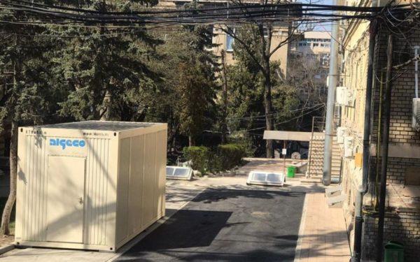 FOTO | Zone de triaj amenajate la două noi secții ale Spitalului Județean de Urgență din Cluj