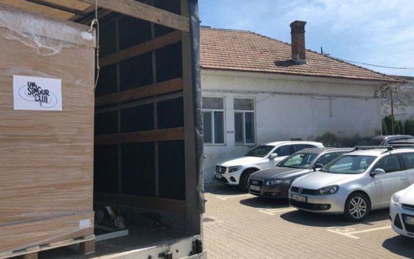 FOTO | Mai multe aparate de anestezie, care pot fi folosite și ca ventilatoare mecanice, au intrat în dotarea Spitalului de Urgență Cluj