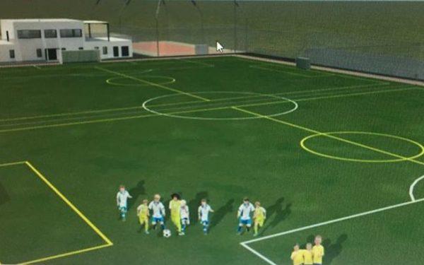 FOTO&VIDEO | O bază sportivă modernă va fi construită pe terenul Obor din Dej