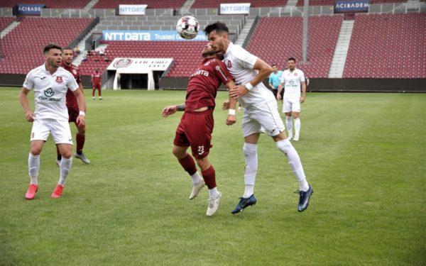 FOTO | Victorie în primul meci din pandemie pentru CFR Cluj. Urmează derby-ul cu FCSB