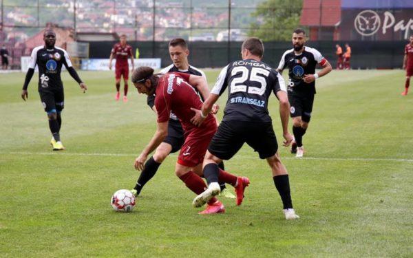 Victorie categorică obținută de CFR Cluj în amicalul cu Gaz Metan Mediaș