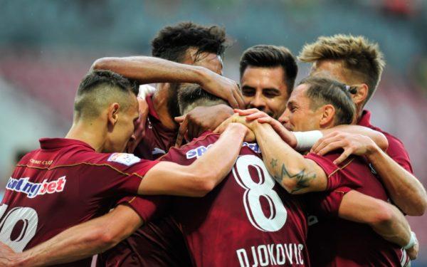 CFR Cluj, victorioasă în derby-ul cu FCSB