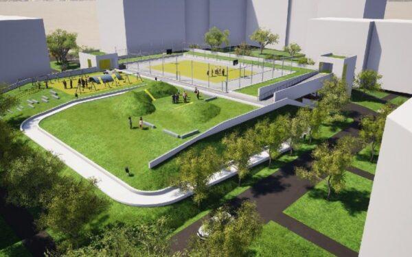 3 din cele 4 parkinguri aflate în lucru la Cluj vor fi gata în toamnă. Două vor avea acoperiș verde