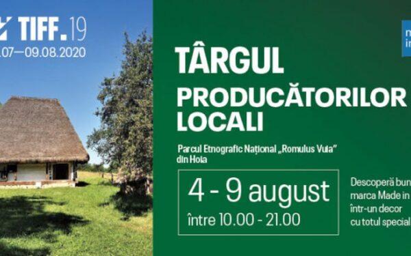 Târg al producătorilor locali, deschis la Cluj cu ocazia TIFF