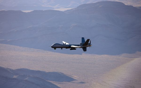 Aeronave MQ-9 Reaper la Câmpia Turzii