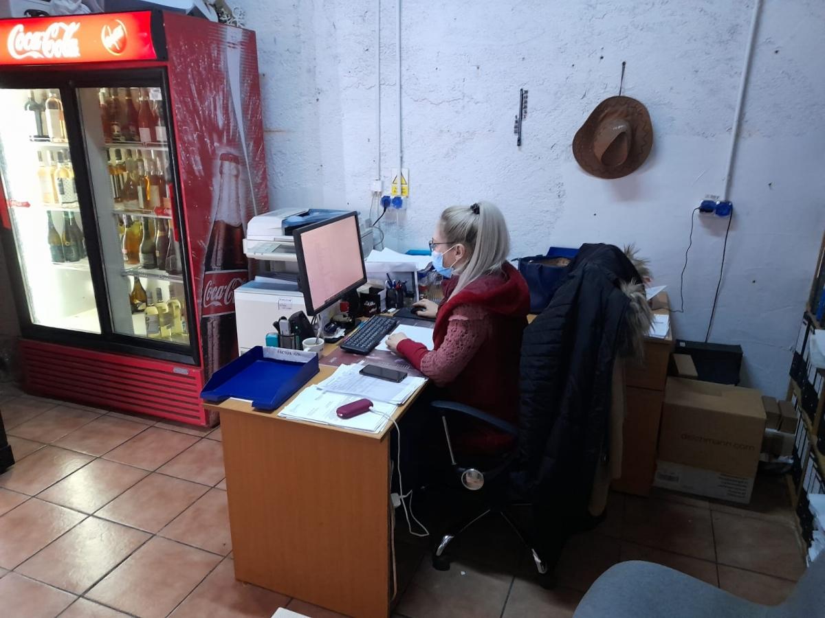 Eniko, contabilă la un restaurant clujean