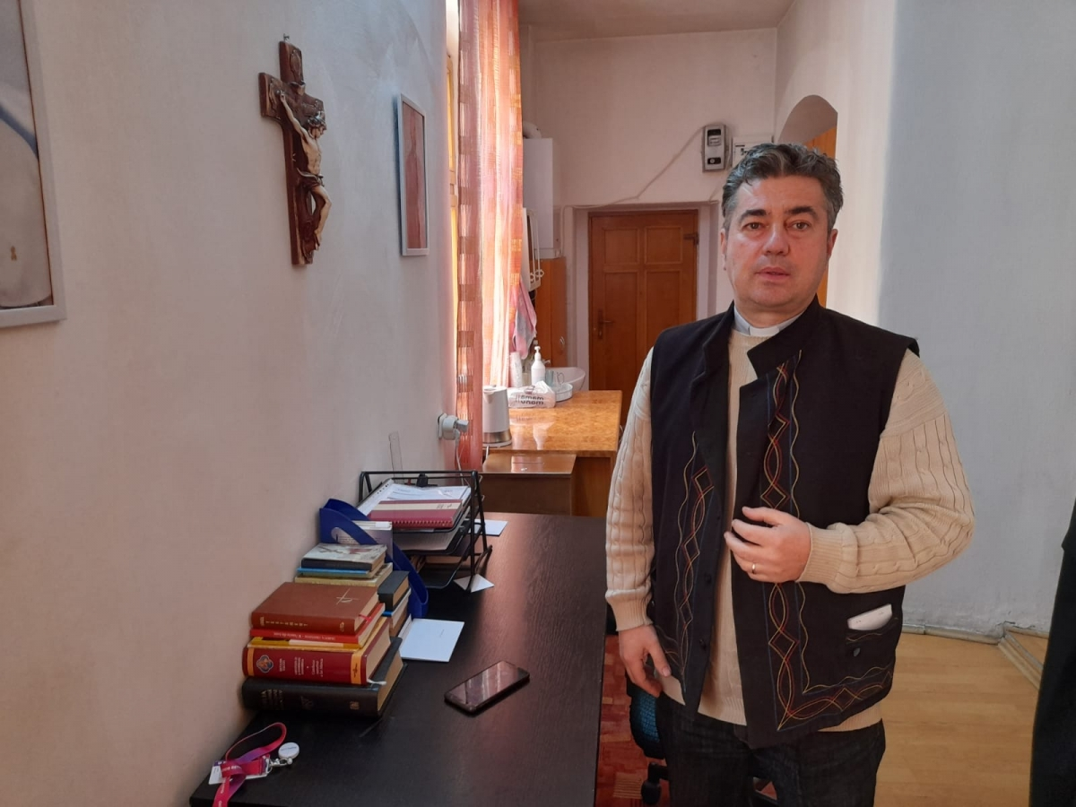 Preotul Teodor Lazăr. FOTO / O.C.